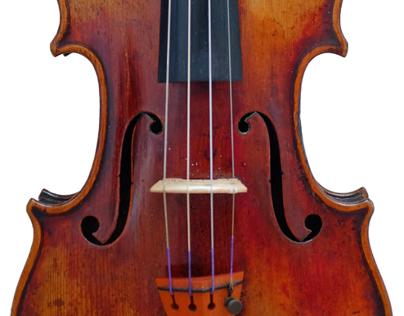 A violin by Jean Francois Aldric, Paris