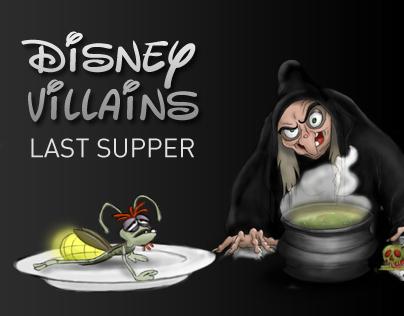 Last Supper Disney Villains