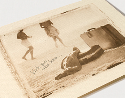 POSTCARD INN ON THE BEACH: Graphic Identity