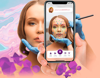 Face Recognition App for Aesthetics