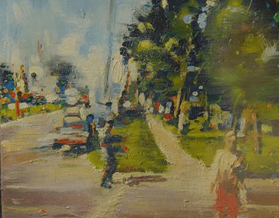 Anthony Oliver - Painter