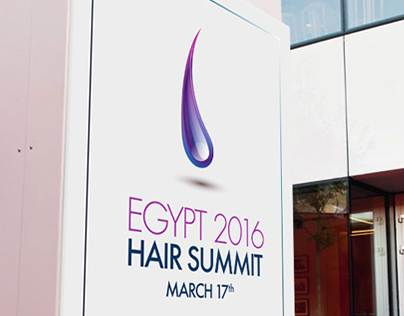 L'oreal Egypt First Hair Summit Branding