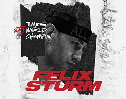 Felix Sturm | Athlete Brand Identity