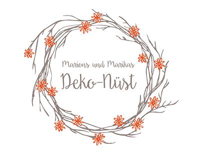 Logo und Visitenkarten für Deko-Nüst