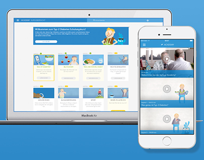 Responsive Webdesign for mySugr