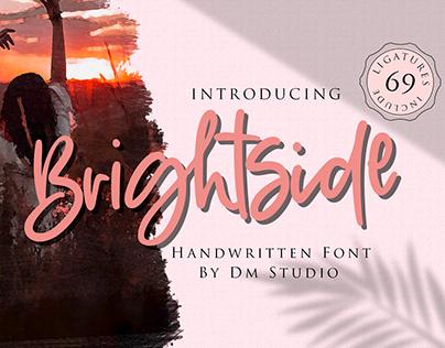 Brightside - Handwritten Font
