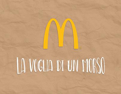 La voglia di un morso | McDonald's