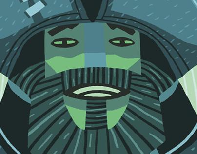 Sea Of Thieves x Divinatory Tarot - Illustrations
