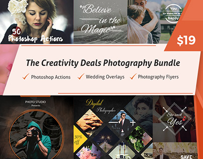 CreativityDeals Photography Bundle For Just $19