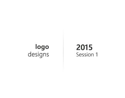 "Logo Designs | Session 1 | ""2015"""