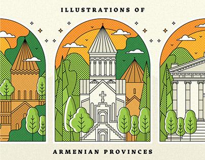 Illustrations of Armenian Provinces