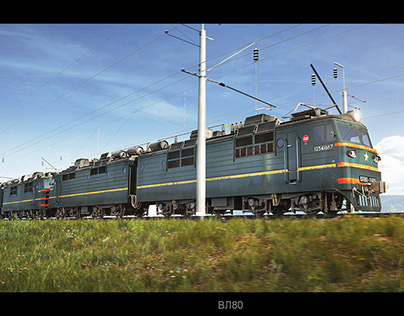 Russian electric locomotives of VL series