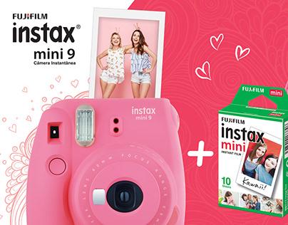 Embalagens Instax mini 9