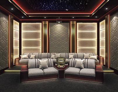 Movie theater family (luxury)