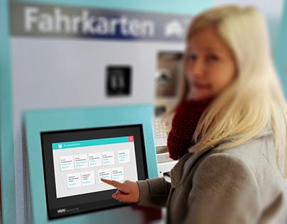 Ticket Machine Interface