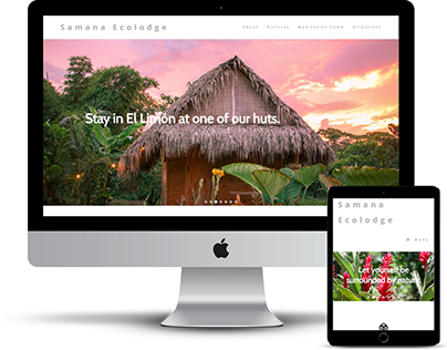 Samana Ecolodge - Website