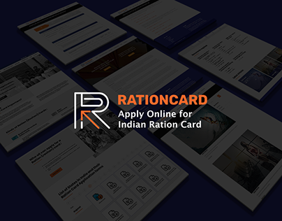 Apply Online for Rationcard website design Session