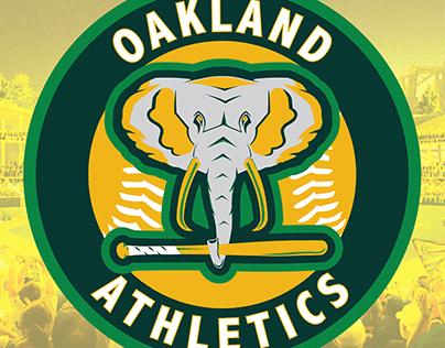 Oakland A's Concept Logo
