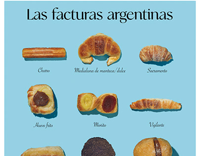 Argentina´s pastry poster