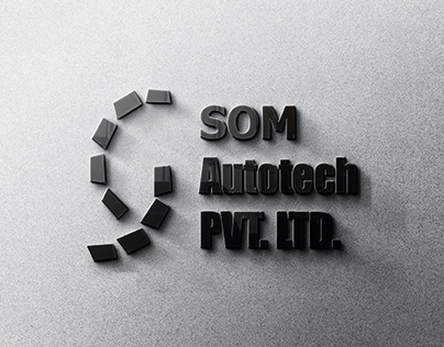 SOM Autotech Logo Designing