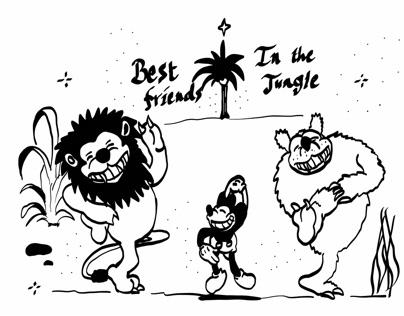 BETTY BOOP FRIENDS