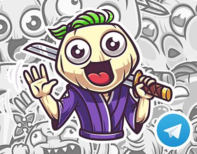 ONION-DONO. Telegram Stickers — 2016