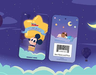 Disney Junior Music Lullabies Packaging