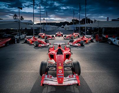 Michael Schumacher F1 Ferraris