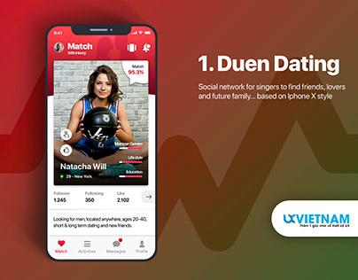 Duen UI KIT - Social Network Mobile application UI KIT
