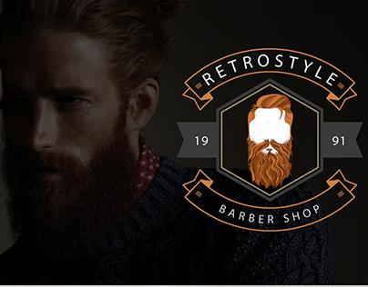 Barber shop || Branding & Web design