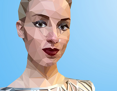 Low-poly picture