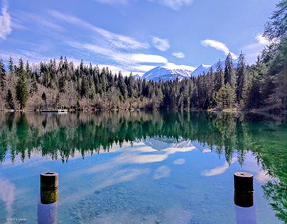 Lake Cresta in Grisons / Switzerland
