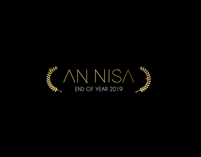 An Nisa End Of Year Event Branding