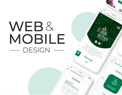 El Jardín del Profe - Web Design