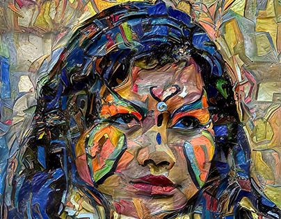 Paintings by Bruno Cerboni & Artificial Intelligence