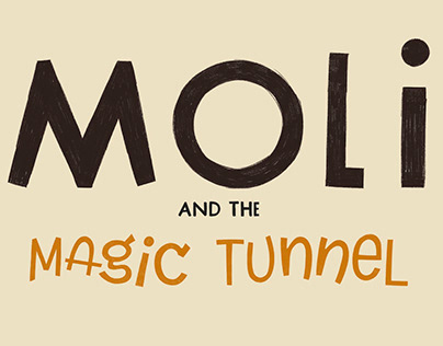 "Picture Book ""Moli and the magic tunnel"""
