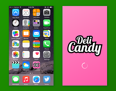 Candy Configurator (App Concept)