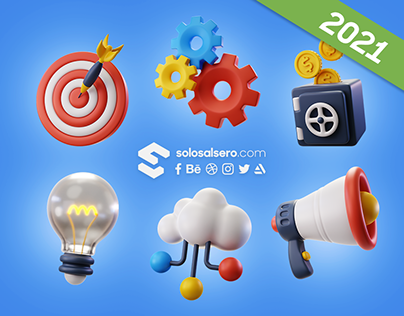 Business 3D Icons | Freepik