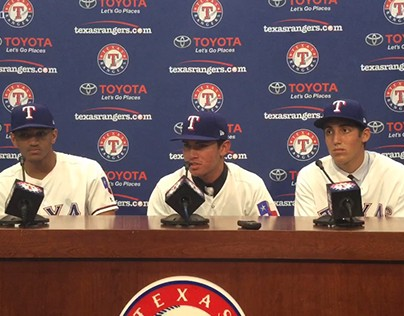 Texas Rangers Adds Bubba Thompson and Chris Seise