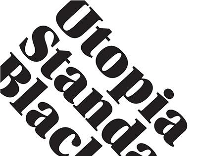 Utopia Standard Black Poster v2