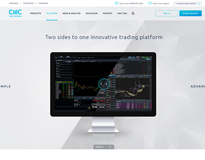 CMC Markets - Website