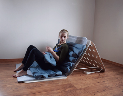 Natural mat for uncomfortable bed