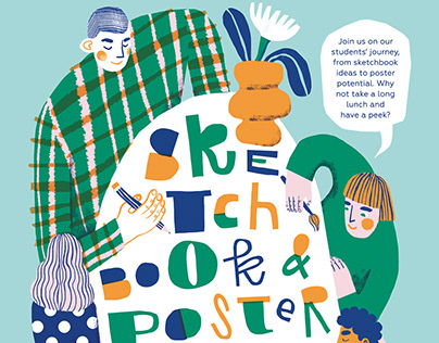 Sketchbook Show Poster