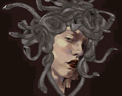 Medusa. Autorretrato.