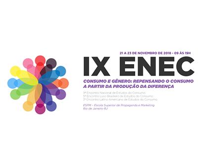 IX ENEC - Encontro Nacional de Estudos do Consumo