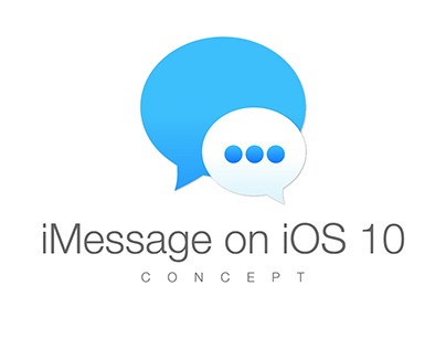 iMessage Concept