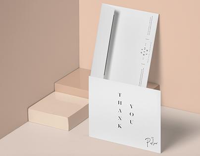 Parlour Design House Brand Identity: Stationary