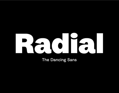 Radial Typeface