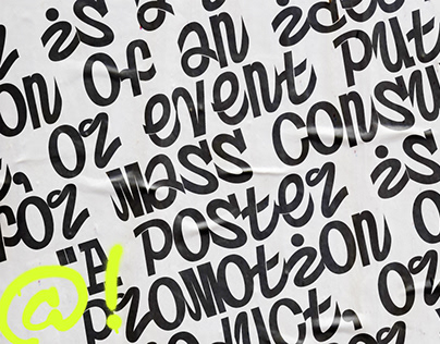 Postertoaster - Free Font