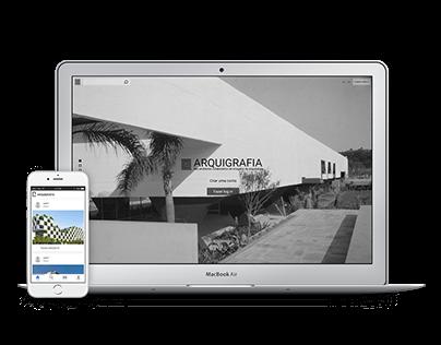 Projeto Arquigrafia – Web Design e Aplicativo